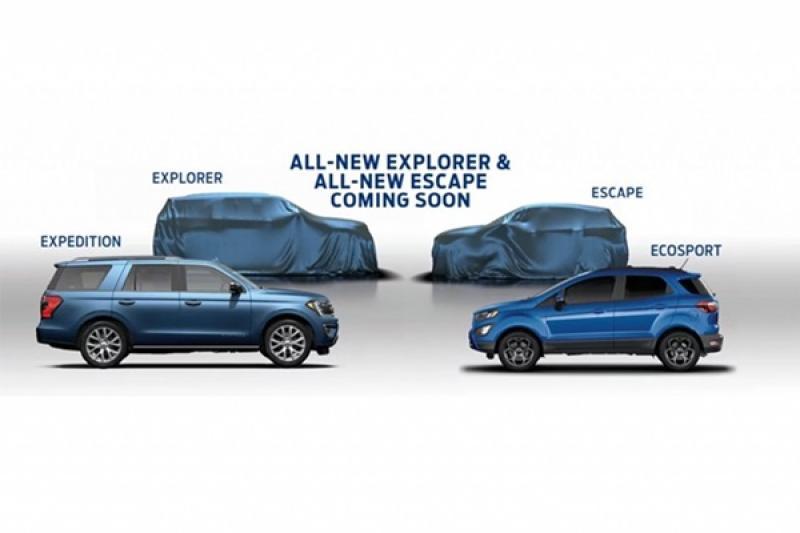 Ford 公布休旅車未來計畫,大改 Kuga 與全新小休旅都在列!