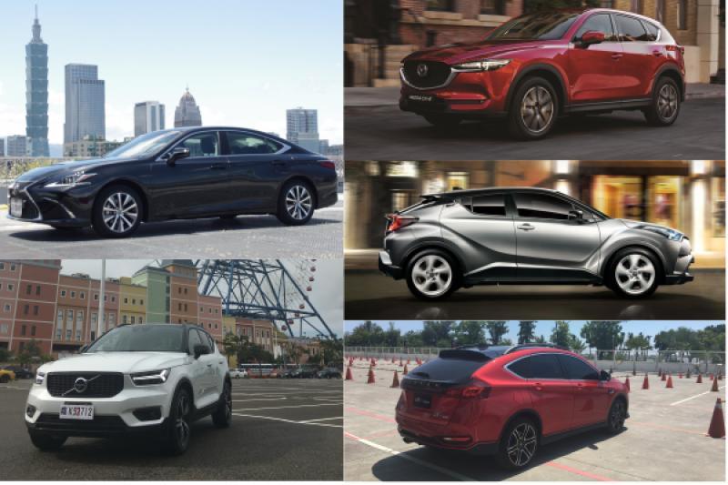 進口車前 5 名,SUV 休旅就佔了 4 席!7 月台灣汽車銷售公布