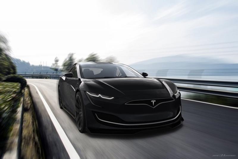 Tesla  Model S 明年大改款,超高未來感預想圖先出爐!