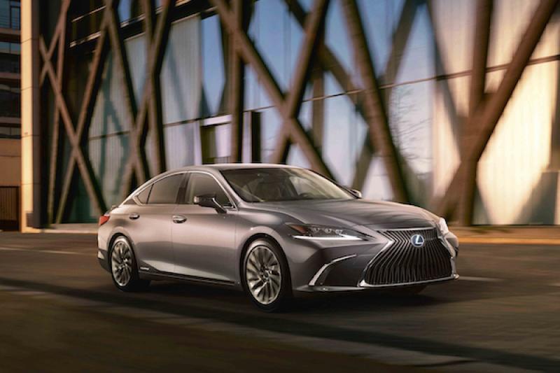 Lexus ES 油電版 10 月上市!日媒揭露 4 款新車上市時程