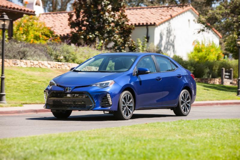 2018 上半年全球汽車銷售誰第一?Toyota Corolla 只拿第二