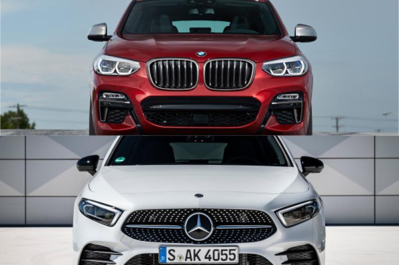 德國雙 B 改款新車連發! 賓士 A-Class 搶先 BMW X4 亮相