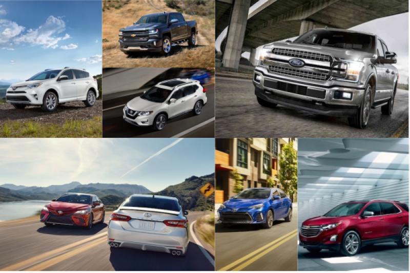 前 3 名沒有任何一輛日本車!美國 2018 上半年銷售排行公布