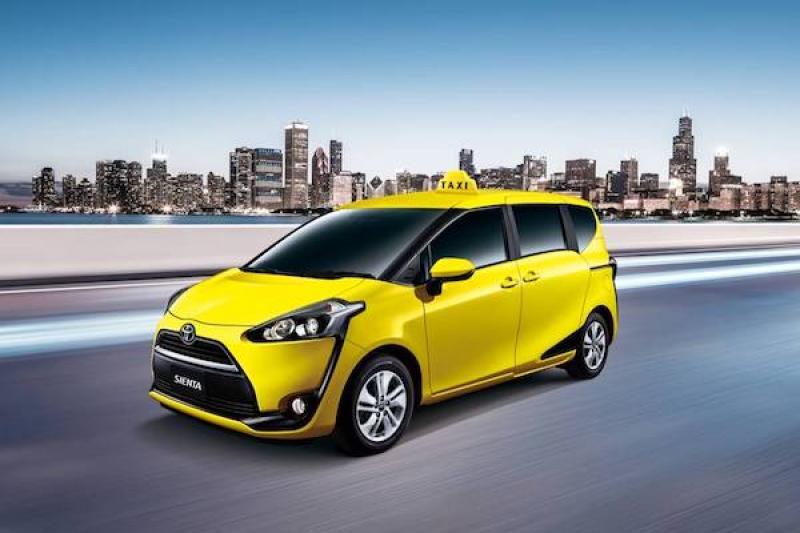 就是主打小黃運將!Toyota 推 Sienta 專用計程車