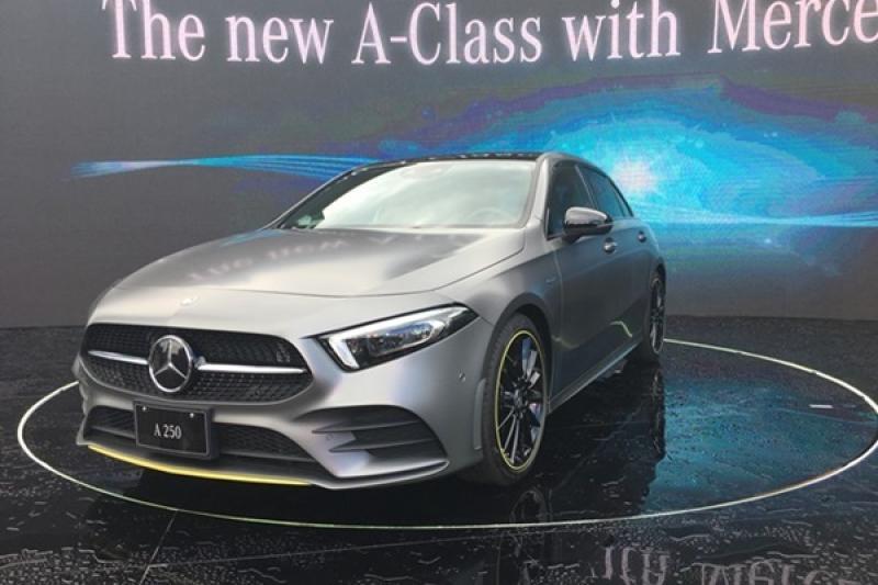 全新賓士 A-Class 台灣發表,入門售價超過 150 萬!(內有影片)