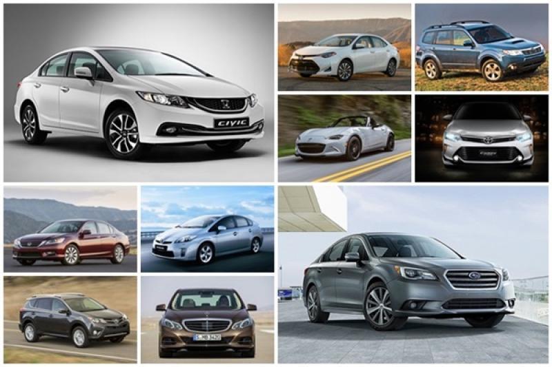 這些車都可以開 10 年以上!外媒選出可靠性超優異的 10 款車