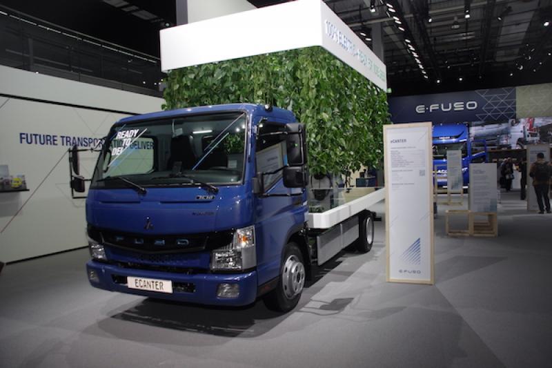 【德國商用車展】堅達電動貨車續航力將提升 2 倍!FUSO 展示純電重卡車