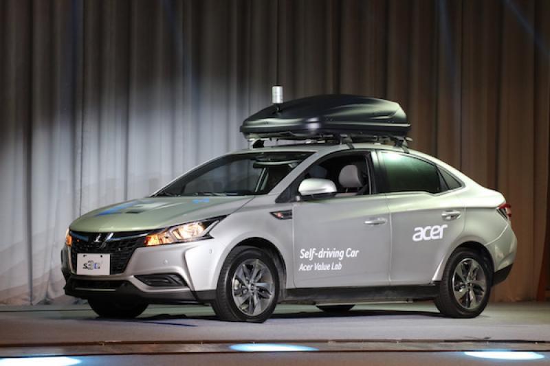 搭載宏碁自駕軟體,台灣首款自動駕駛概念車亮相!