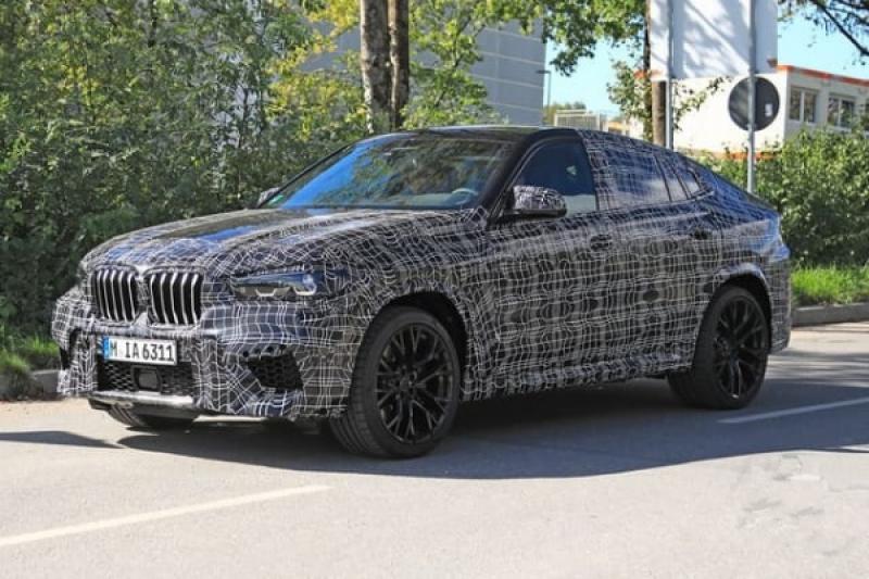 BMW X6 全新大改款開發中,偽裝測試車首次遭捕獲!