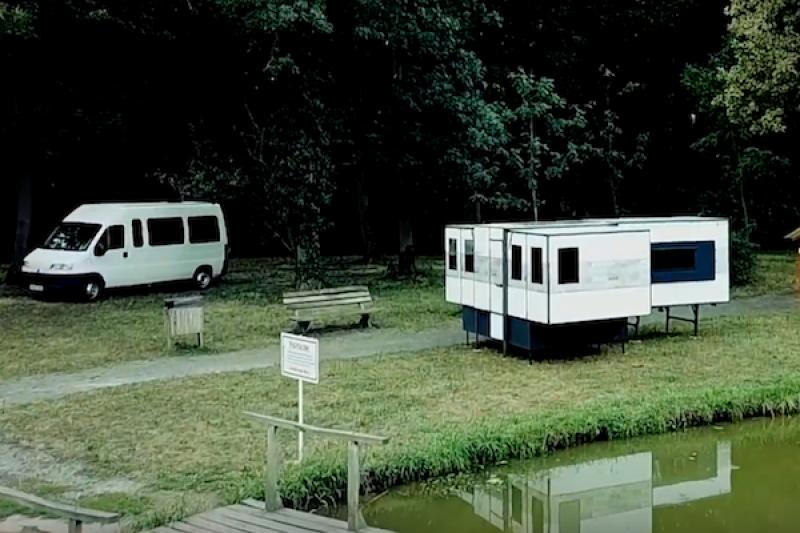 露營車直接塞進後車廂!摺疊式露營屋 10 分鐘神奇展開
