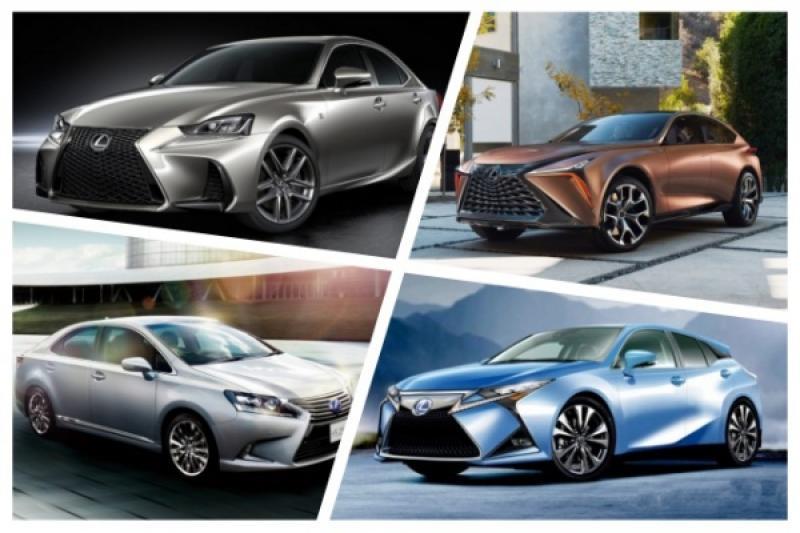日媒整理 Lexus 明年新車計畫,多達 4 款車準備大改款亮相!