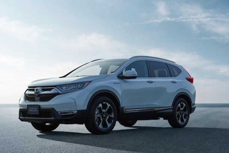 Honda CR-V 日本開賣 1 個月訂單量,竟是月販售 4 倍成績!