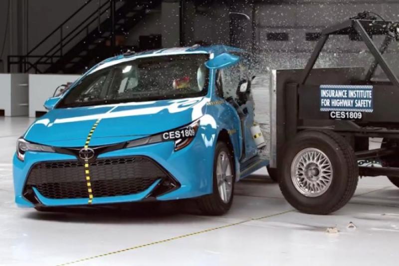 權威機構《IIHS》公布最新撞擊結果,Toyota Auris 獲安全首選評價!(內有影片)