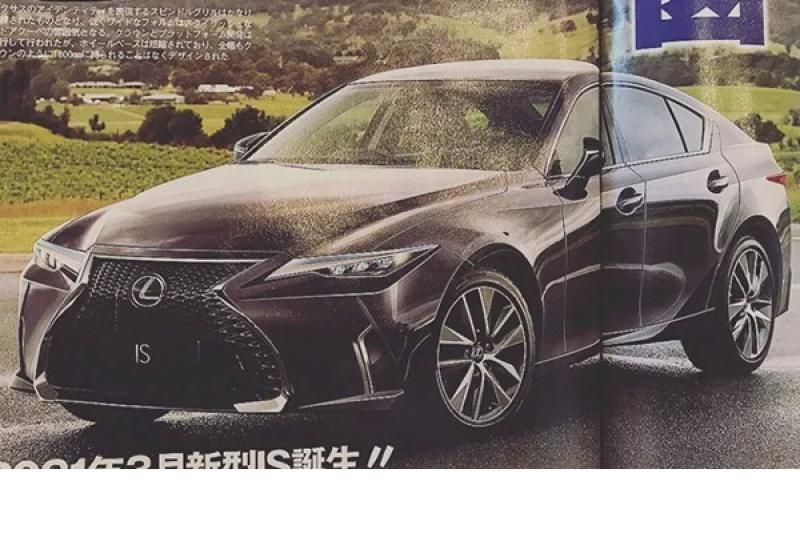 不打算停產?Lexus IS 大改款預想圖首度曝光