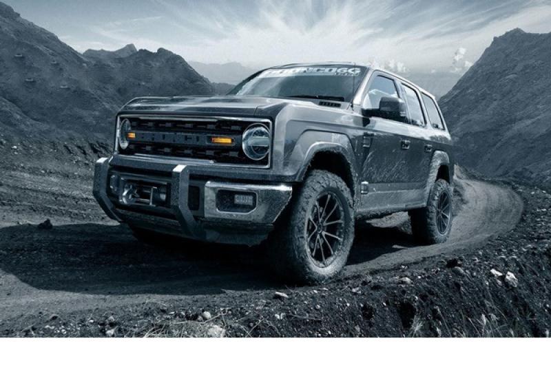簡直比 Ranger 還帥!Ford 全新越野 SUV 預想圖曝光