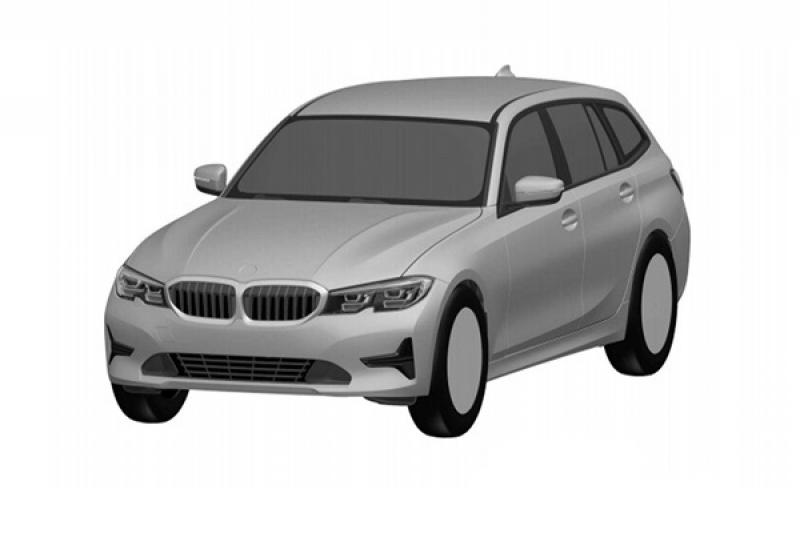 選「碗公」才流行!BMW 新一代 3 系列 Touring 專利圖流出