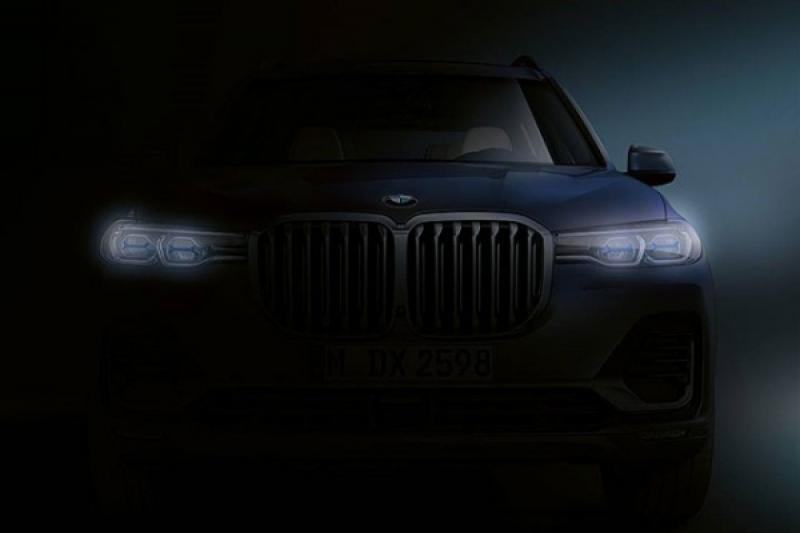 BMW 旗艦休旅 X7 登場倒數,霸氣車頭預告曝光!