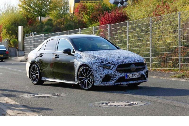 最便宜 AMG 房車發表在即!M.Benz A35 Sedan 間諜車曝光
