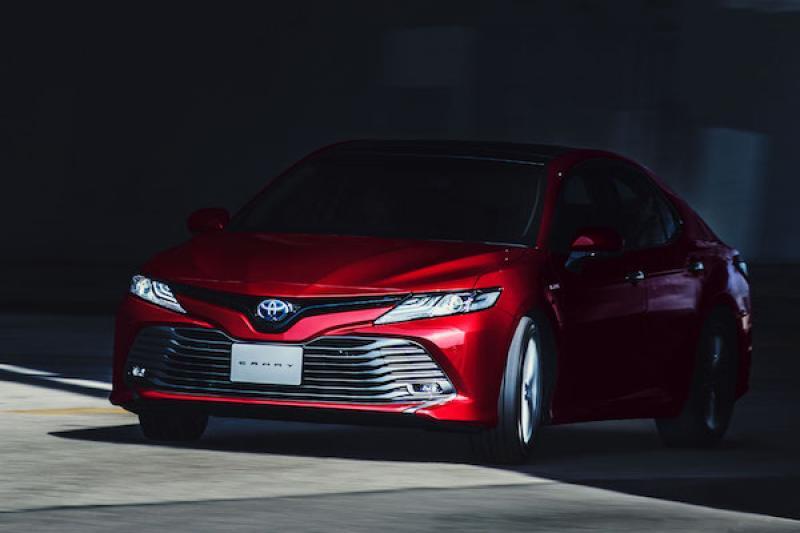 再 1 星期台灣上市,大改款 Toyota Camry 主要規配搶先看!