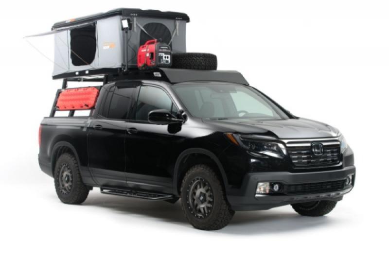 Honda 最新皮卡概念車也是露營車!確定有望量產