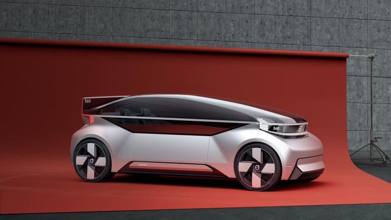 車內就是你的臥房!Volvo 電動概念車,內裝設計讓人意想不到