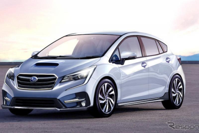 Subaru 將推小型掀背車搶市!對手是福斯 Polo 與福特 Fiesta