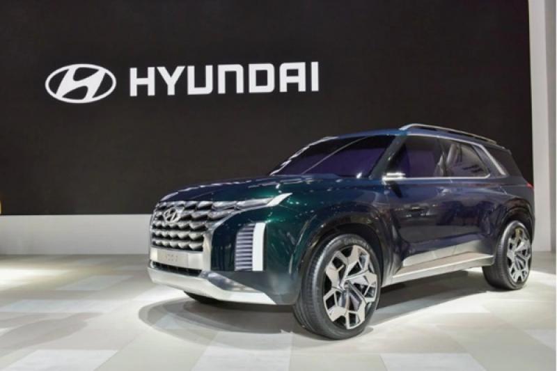 旗艦級 8 人座休旅,Hyundai Palisade 預告洛杉磯車展亮相!