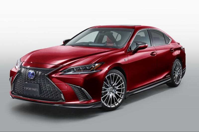 想改 Lexus ES 看過來!TRD 勁帥套件加持上身
