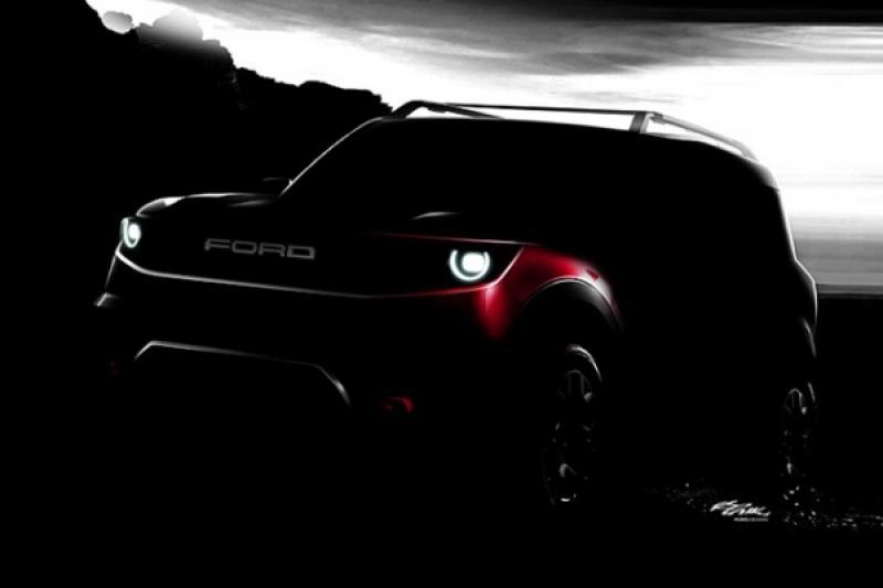 Ford 全新越野小休旅外觀正式曝光,有望重拾福特經典跑車名稱?
