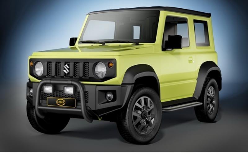 變得更兇悍!Cobra 推出 Suzuki Jimny 專屬外觀套件