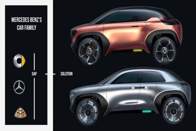 用 Smart 平台打造的純電休旅,M.Benz 將再推 EQ 微型電動車