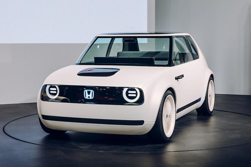 捕獲 Honda Urban EV 掀背電動車路試中,預定明年量產上市!