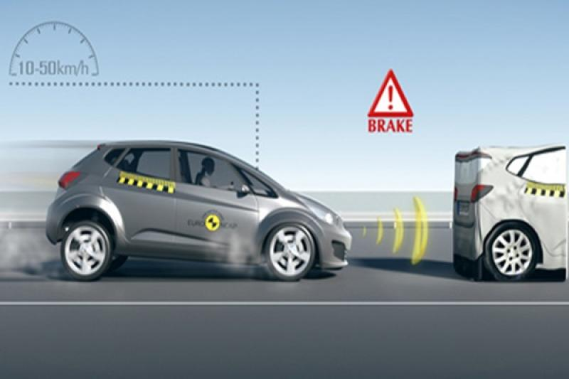 AEB 自動緊急剎車有多重要?美國 IIHS 用數據告訴你!