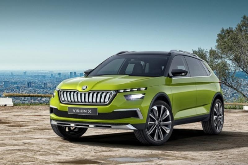 VW T-Cross 姊妹車,Skoda 全新小型休旅 Kosmiq 明年登場!