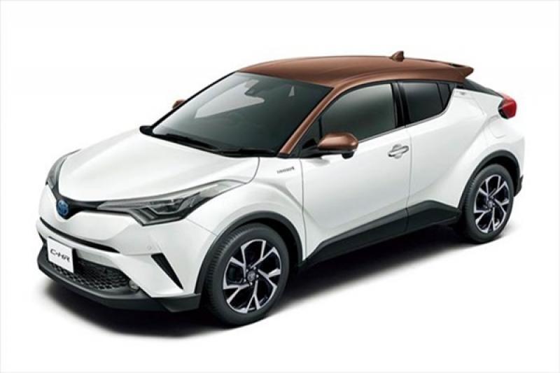 換算台幣只要 70 萬!日規豐田 C-HR 推出兩款個性特仕車