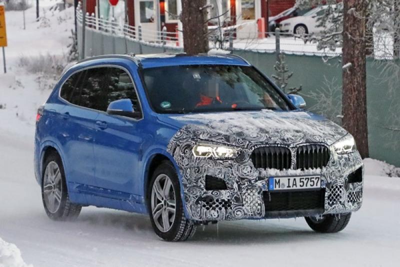 BMW X1 測試車被捕獲!改款重點不只有全新內外觀而已