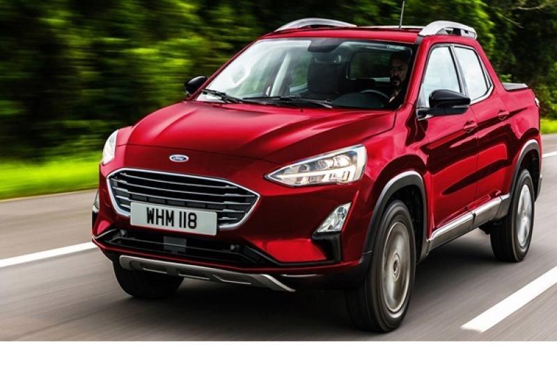 用 Focus 底盤打造的新貨卡,Ford 全新貨卡測試車首度曝光!