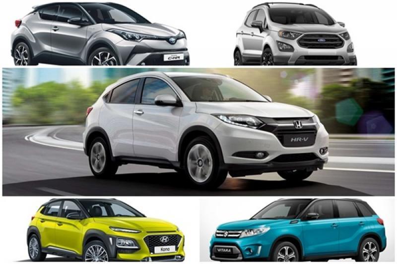 台灣今年跨界 SUV 競爭激烈,2018 小休旅銷量冠軍已確定是「它」!
