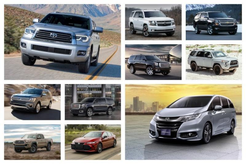 行駛超過 30 萬公里比例最高的 10 款車,前 7 名都是 SUV 車型!