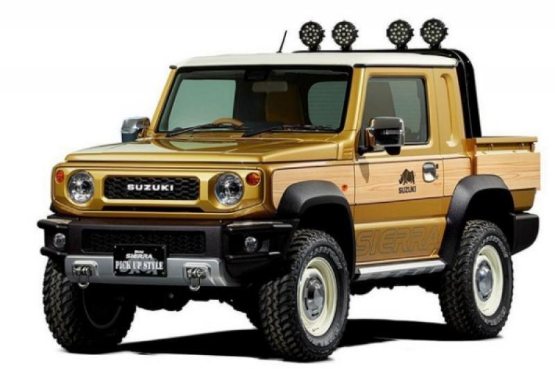 賣到缺貨的 Suzuki Jimny 還能這樣改?變身皮卡版本實用性更強!