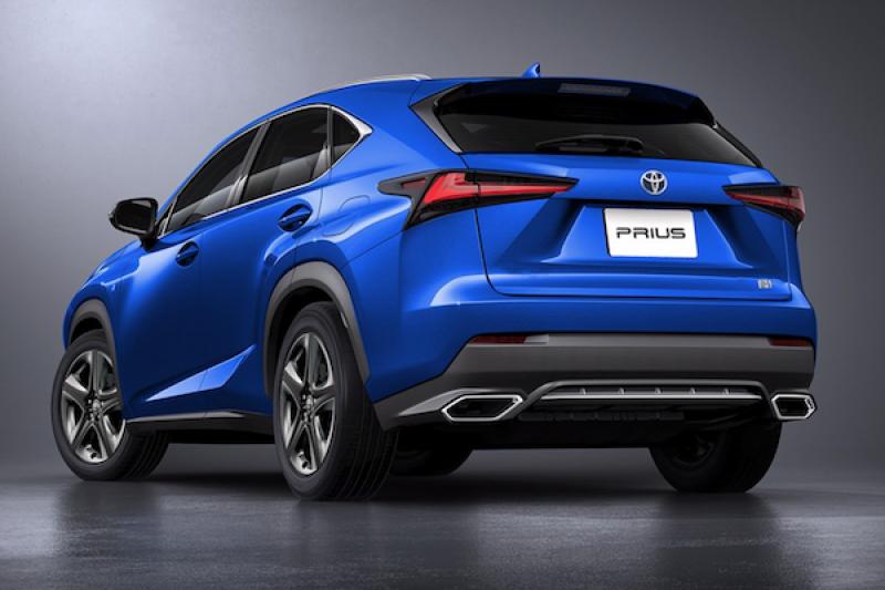 設計師描繪 Toyota Prius 休旅樣貌,外媒:車尾根本是 Lexus SUV!