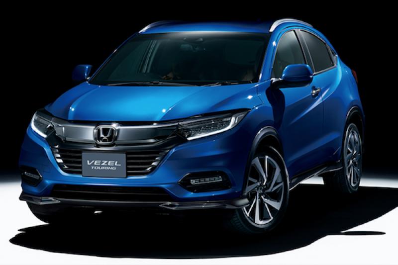 日規 HR-V 小改款上市時間公布!專屬網頁日本 Honda 正式上線