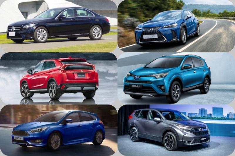 技壓 Nissan 與 Mitsubishi,Honda 衝上第 2!2018 年 12 月台灣汽車銷售排行公布