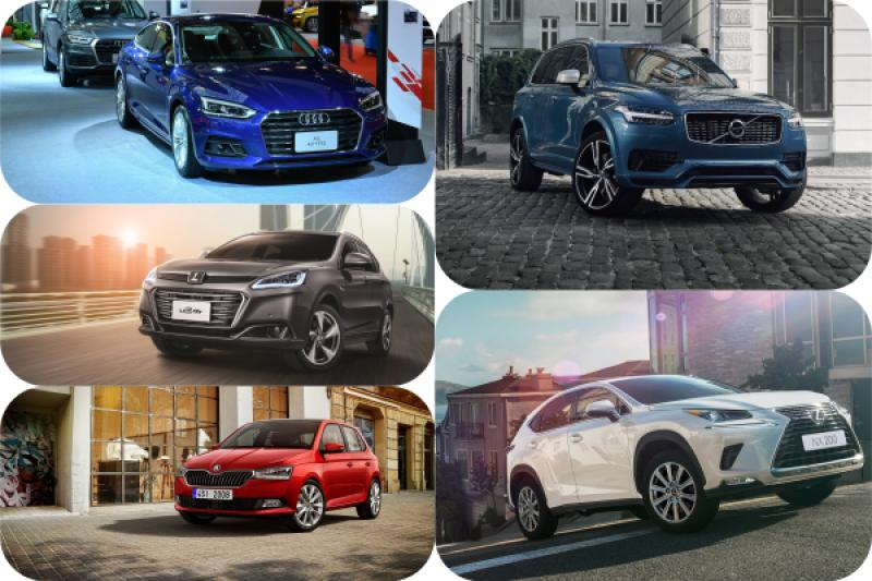 2018 台灣新車總銷量排名,第一名成長幅度超過 26%!