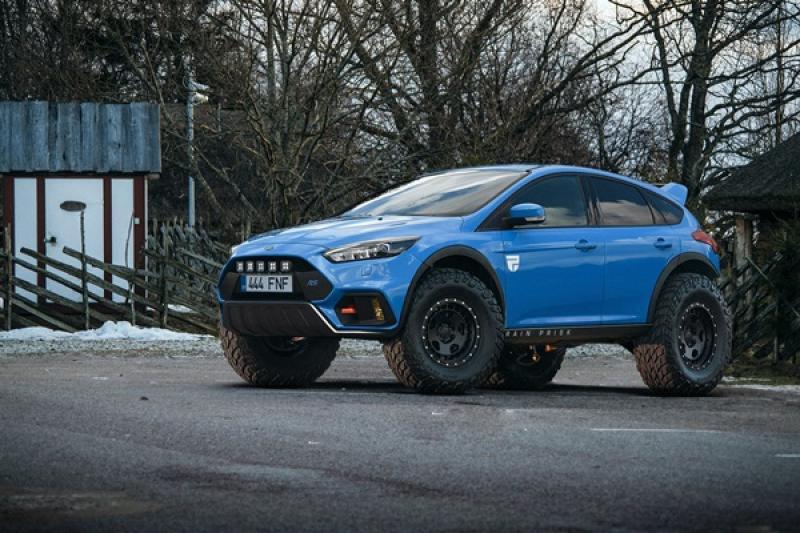 熱血鋼砲混搭越野風!第三代 Ford Focus RS 搖身變成四驅越野車