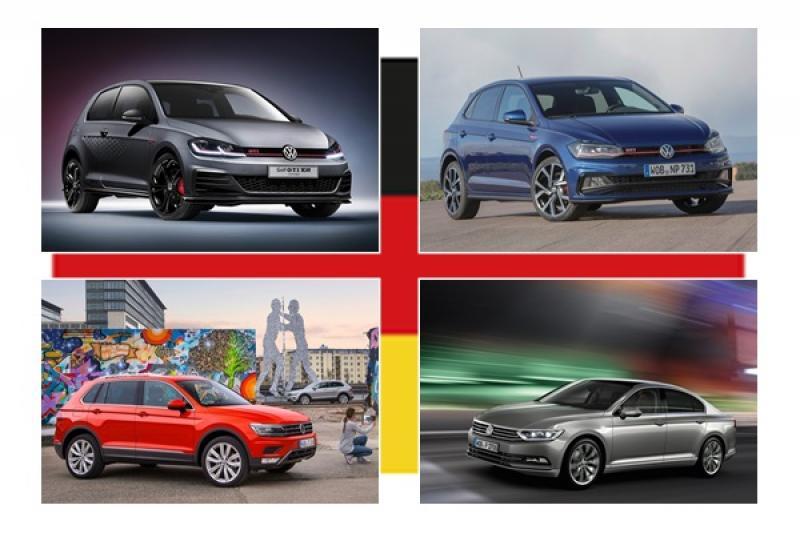 2018 年德國最暢銷的 4 款車竟然都是同一個品牌!