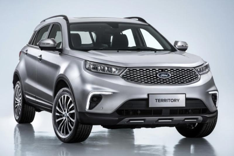 Ford Territory 新休旅海外亞洲正式上市,台幣 50 萬就能入手!