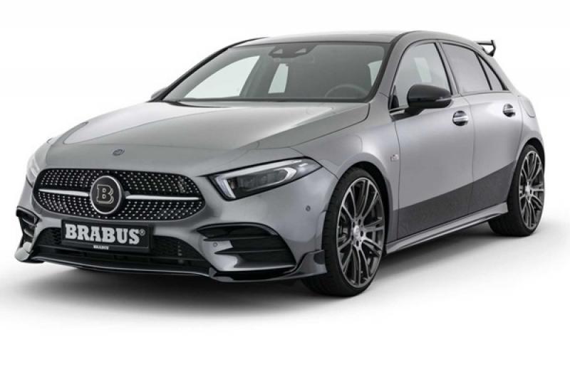 改裝壓歲錢要花在刀口上,Brabus 推出M.Benz A250 升級套件!(內有相片集)