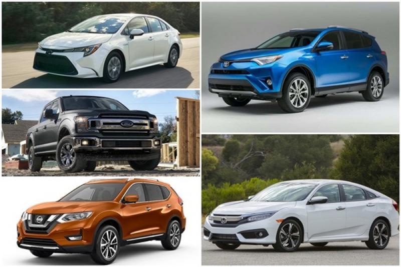 全球 2018 年度暢銷車排行榜出爐,前兩名車款都突破百萬輛銷售!