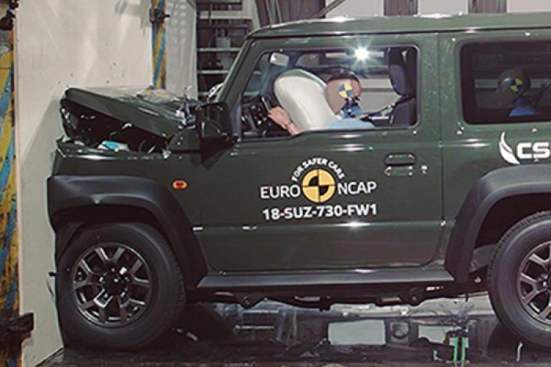 滿分 5 星,新一代 Suzuki Jimny 歐洲撞擊測試僅獲得三星的原因是…